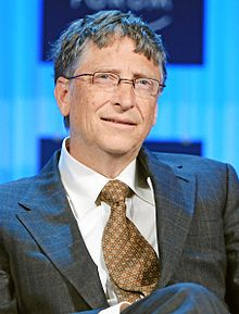 Microsoft co founder Bill Gates plans to spend his fortune for the eradication of poliomyelitis a viral disease that has taken a countless number of lives photo