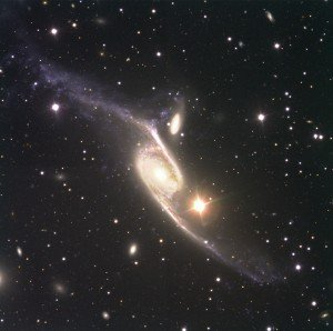 NGC 6872 a galaxy about 212 million light years away in the constellation Pavo was already known to be among the largest spiral galaxies photo