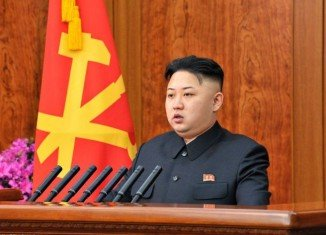 North Korean leader Kim Jong-un has delivered a new year's message on state TV, the first such broadcast for 19 years