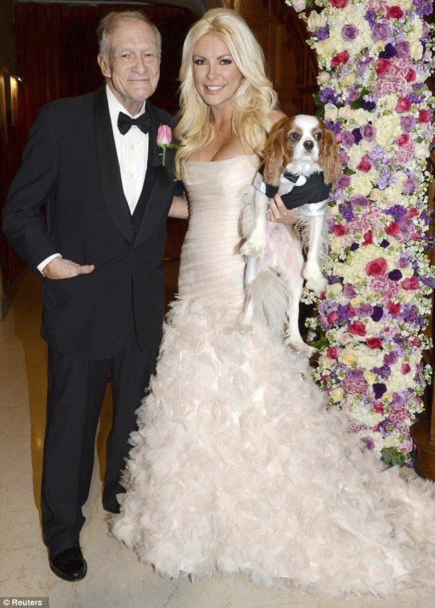crystal harris and hugh hefner wedding pictures revealed