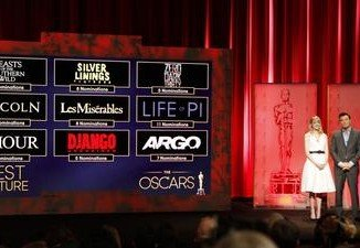 Oscar 2013 Full List of Nominees
