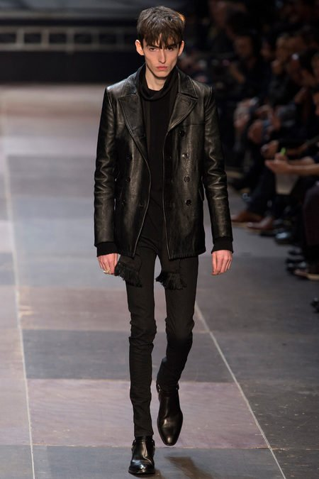 Manorexia Ysl Uses Skinny Male Model On Catwalk
