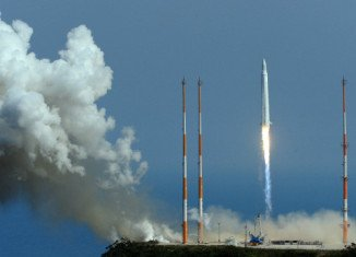 South Korea has launched KSLV-1 rocket in its third attempt to place a satellite into space