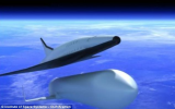 SpaceLiner is a hypersonic capable of reaching 24 times the speed of sound and by 2050 could transport passengers from London to Sydney in just 90 minutes