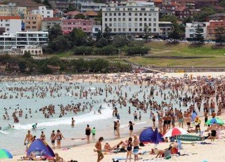 Sydney is experiencing its hottest day on record, with temperatures reaching nearly 115 F