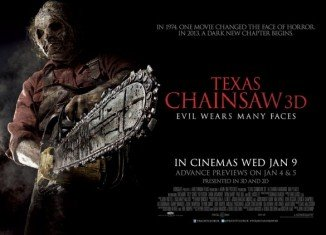 Texas Chainsaw 3D has unexpectedly topped the US box office, ending The Hobbit's three-week reign