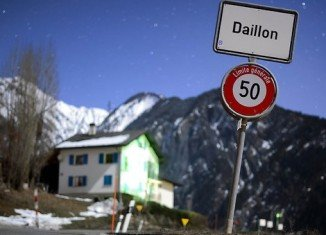 Three people are dead and two others are injured after a gunman has opened fire in Daillon village in Switzerland