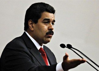 Venezuela's Vice-President Nicolas Maduro has given the annual state of the nation speech in place of Hugo Chavez, who is still recuperating in Cuba after cancer surgery