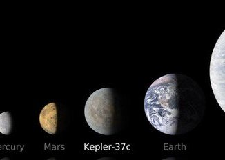 Astronomers have smashed the record for the smallest planet beyond our Solar System identifying Kepler-37b, an exoplanet which is only slightly larger than our Moon