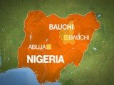 At least six foreign workers have been seized and a security guard shot dead by gunmen who attacked a construction company site in Bauchi, northern Nigeria