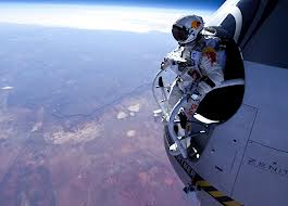 Austrian daredevil Felix Baumgartner fell has been proved to be even faster during his historic skydive last October than was originally thought photo