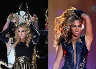 Beyoncé's half-time performance at this year Super Bowl failed to pull in more viewers than Madonna's record breaking 2012 appearance