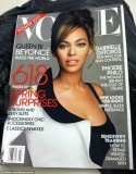 Beyonce appears to be the March cover of Vogue magazine as an image showing the star was leaked online