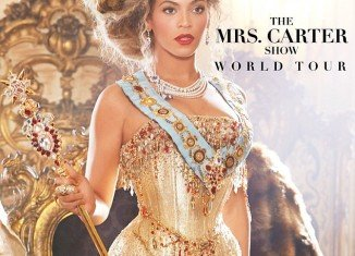 Beyonce formally announced the tour dates for her Mrs. Carter Show world tour on her website Sunday night