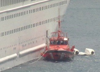 Five crew members have died after a lifeboat they were in fell from Majesty cruise ship docked in the port of Santa Cruz de la Palma in the Canary Islands