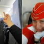 Tatiana Kozlenko sacked by Aeroflot after picture showing her giving passengers the finger goes viral