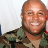 Former LAPD officer Christopher Dorner accused of three murders has been involved in a shoot-out with police in California