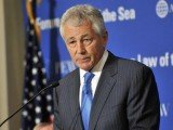 Former Senator Chuck Hagel has been confirmed by the US Senate as the new Pentagon chief