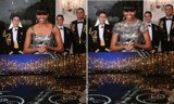 Iranian Fars News Agency has digitally altered an image of Michelle Obama announcing the Oscar for Best Picture last night, in order to make her dress appear more modest
