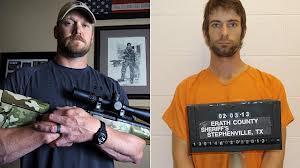 Iraqi war veteran Eddie Ray Routh has been charged with murdering ex-US Navy Seal sniper Chris Kyle and his neighbor in Texas