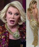 Joan Rivers has been blasted by a Jewish pressure group for a joke she made about German supermodel Heidi Klum's daring Oscars outfit