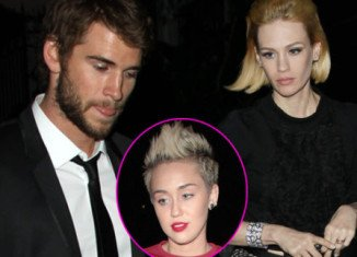 Liam Hemsworth allegedly cheated on Miley Cyrus with 35-year-old January Jones
