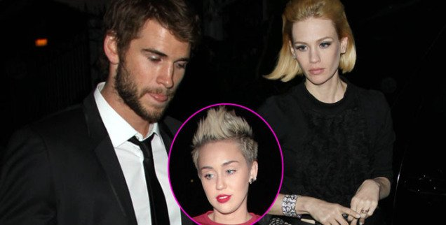 Liam Hemsworth cheated on Miley Cyrus with January Jones? Liam Hemsworth And January Jones