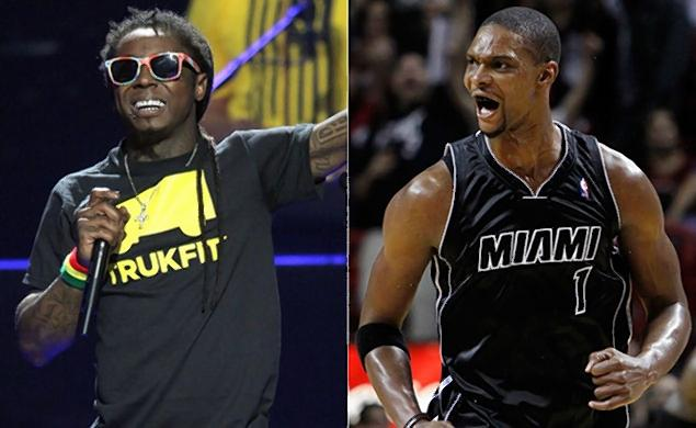 Lil Wayne claims he slept with Chris Bosh's wife after ...