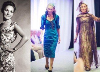 Marion Finlayson made her modelling debut back in the 1940s, and decided to tread the runway once again at a charity event in her hometown Aberdeen as a way of distracting herself from her husband Bruce's death