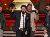 Mumford and Sons took home the Album of the Year prize for Babel at Grammy Awards 2013