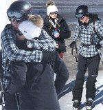 On the slopes of the Verbier ski resort, Prince Harry and his society girlfriend Cressida Bonas seem to be closer than ever