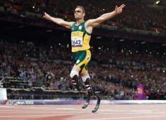 Oscar Pistorius, the world's most famous Paralympian and the first to compete in the able-bodied Olympics, has a notoriously complex love life