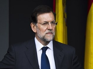 PM Mariano Rajoy has strongly denied Spanish media claims that he and other members of the governing Popular Party received secret payments photo