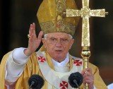 Pope Benedict XVI has hinted he will withdraw into seclusion after stepping down at the end of this month