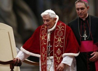 "Pope Benedict XVI has officially resigned today, saying that he now ""will simply be a pilgrim"" starting his last journey on earth"