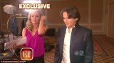 Prince Michael Jackson struck out on his own as a special correspondent for Entertainment Tonight on Tuesday night