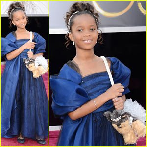 Quvenzhane Wallis the youngest Oscar nominee has been confirmed for the title role in the new Annie film photo