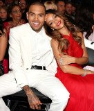 Rihanna and Chris Brown refused to acknowledge one another after both arriving at the Playhouse Nightclub in Los Angeles