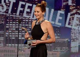 Silver Linings Playbook won best film best screenplay best director for David O. Russell and best actress for Jennifer Lawrence at the indy film awards photo