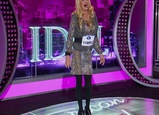 Steven Tyler dressed as a woman for a secret American Idol audition