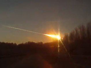The meteor crashing in Russia's Ural Mountains has injured at least 985 people, as the shockwave blew out windows and rocked buildings