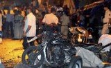 Twin blasts have killed 12 people in the southern Indian city of Hyderabad