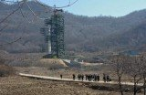 US experts say North Korea appears to be upgrading one of its two rocket launch sites, perhaps in a move to test bigger rockets