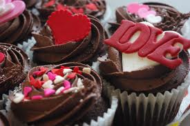 Valentine's Day Chocolate Cupcakes