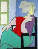 Woman Sitting Near a Window, one of Picasso's portraits of his mistress, Marie-Therese Walter, has been sold for £28.6 million at Sotheby's