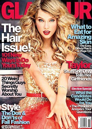 Taylor Swift: one of the worst selling magazine cover ...