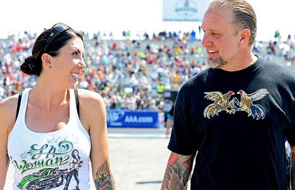 Alexis DeJoria and Sandra Bullocks ex husband Jesse James married in a very extravagant and expensive affair in Malibu photo