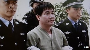 Among the prisoners was Naw Kham a Burmese man thought to have been one of the most powerful warlords in the Golden Triangle of Thailand Laos and Burma photo