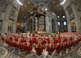 Cardinals have begun voting to elect a new Pope at the Vatican's Sistine Chapel