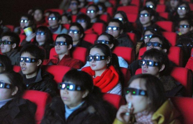 China has become the world's second-biggest movie market in 2012